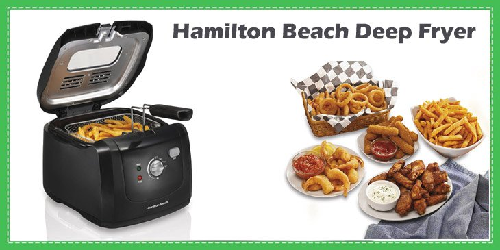 Hamilton Beach Deep Fryer 8 Cup