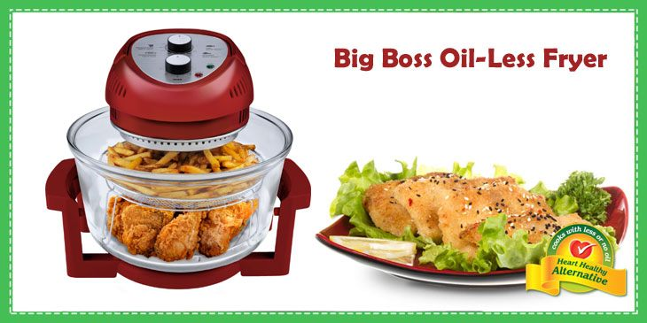 big boss oil less fryer review